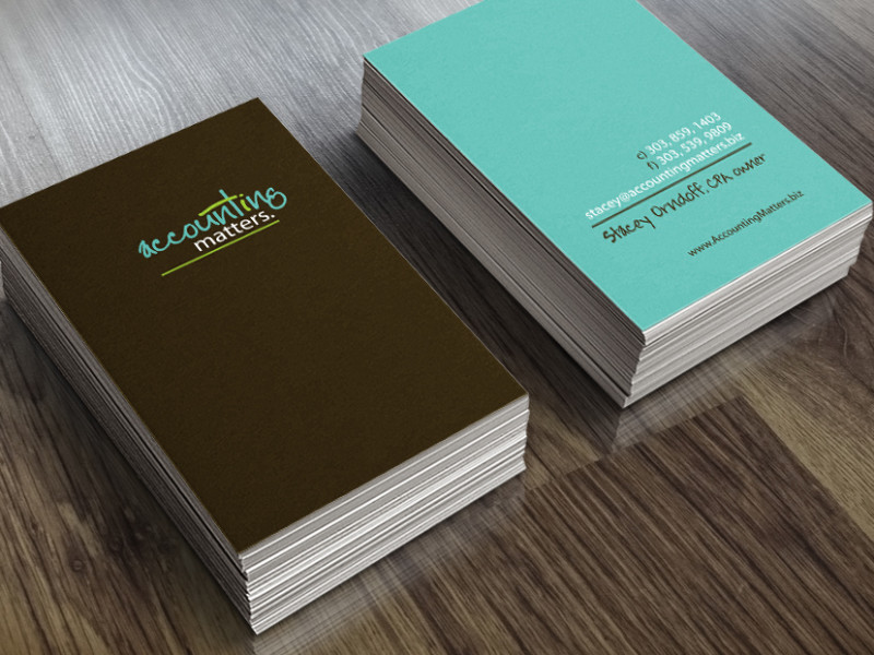 Accounting Matters Business Card