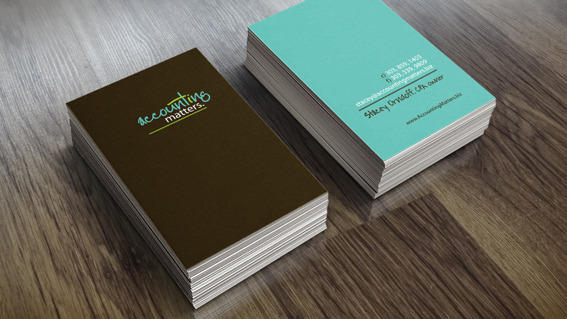 Design moose digital and graphic design for Cpa business card examples